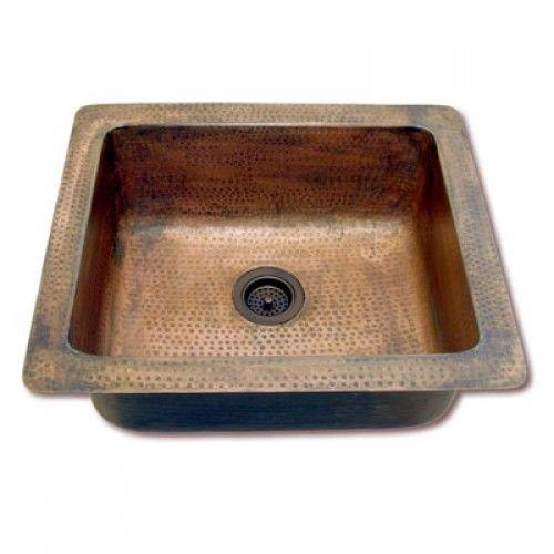 Eclectica Loire Copper Kitchen Sink - Copper Sinks - Kitchen Sink Type
