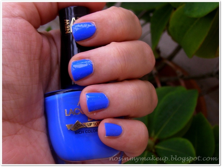 Astor Lacque Deluxe 875 - Electric Blue