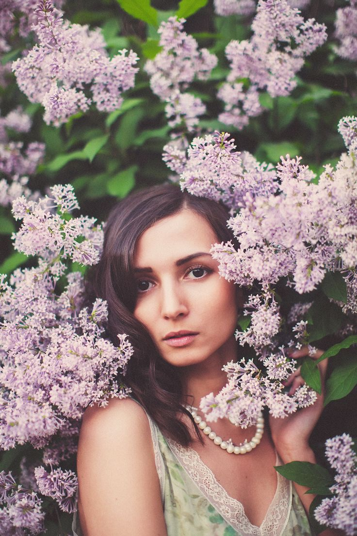 girl, lilac, bloom, beauty, сирень, цветение, девушка, портрет, portrait