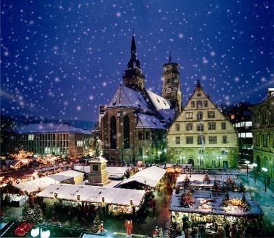 Weihnachtsmarkt - Stuttgart-The Christmas Market was awesome!
