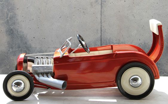 "Custom Pedal Cars | 1932 Ford ""Respect Tradition"" Custom Pedal Car 