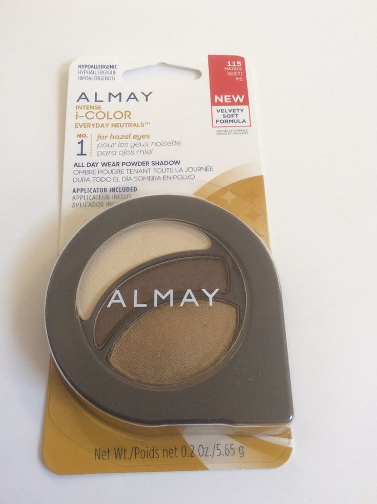 NIB #Almay #Intense i-COLOR Everyday #Neutrals No 1 For #Hazels 115 .2 oz #almay