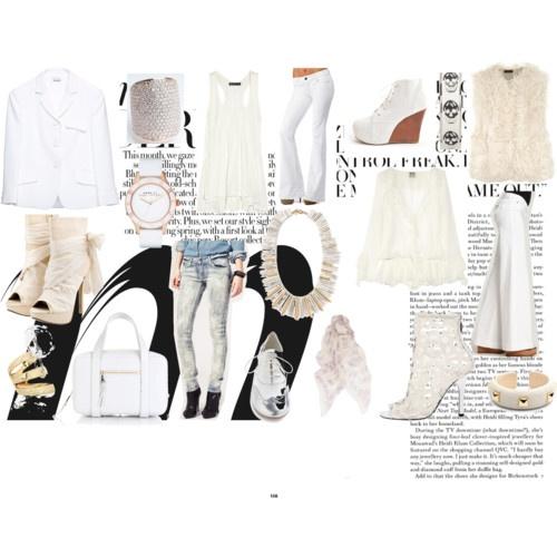 White On: Style Examination, Sf Style
