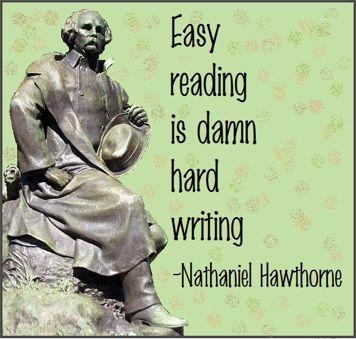 Day 24: Nathaniel Hawthorne - Let's Go Wrimos!