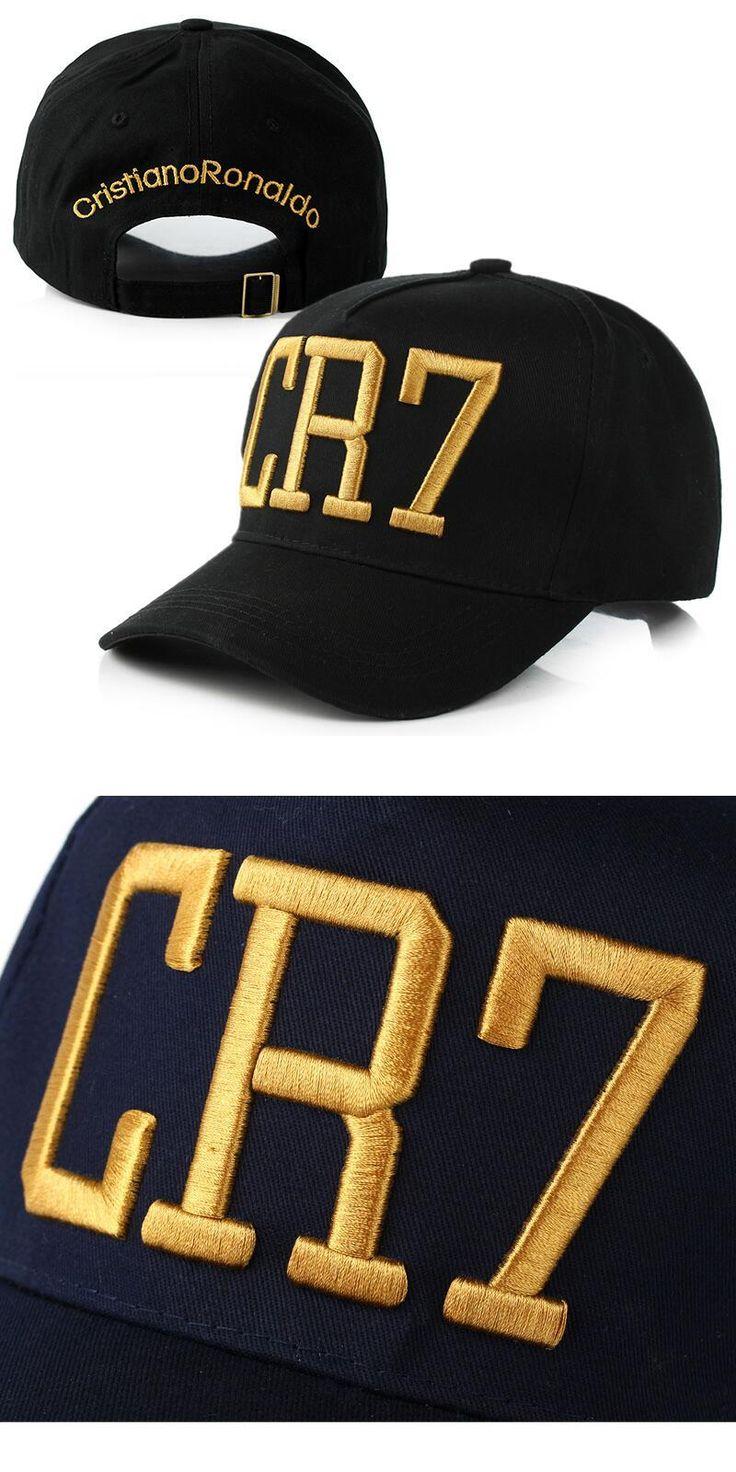 [Visit to Buy] 2016 Cristiano Ronaldo CR7 Black Blue Baseball Caps hip hop Sports Snapback Football hat chapeu de sol swag Men women #Advertisement