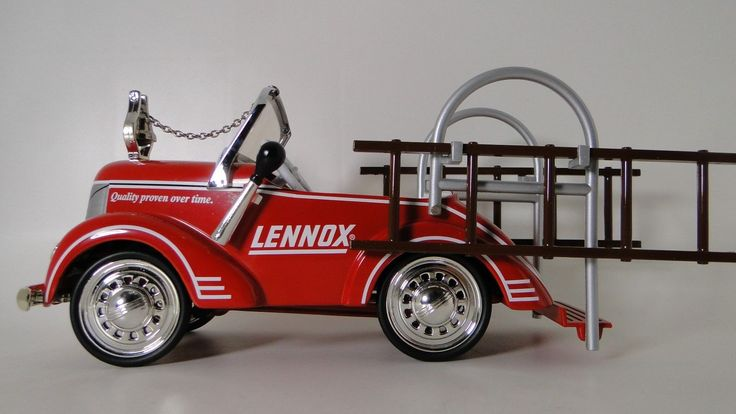 Fire Truck Pedal Car 1930s Ford Fire Engine Rare Vintage Classic Midget Model | eBay