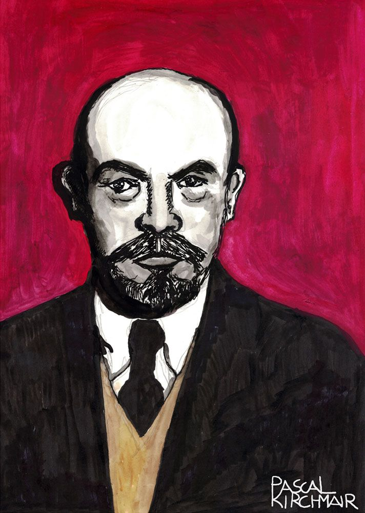 """""""Vladimir Ilyich Ulyanov"""", better known by the alias LENIN (22 April [O.S. 10 April] 1870  – 21 January 1924), was a Russian communist revolutionary, politician, and political theorist. He served as head of government of the Russian Republic from 1917 to 1918, of the Russian Soviet Federative Socialist Republic from 1918 to 1924, and of the Soviet Union from 1922 to 1924."""
