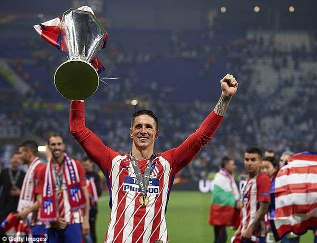 Resultado de imagen de torres europa league atleti
