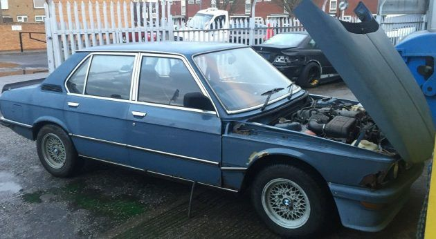 UK Barn Find BMW M535i USA German Projects