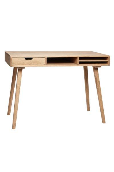 Skrivbord, ek - Hübsch - hemlangtan.com