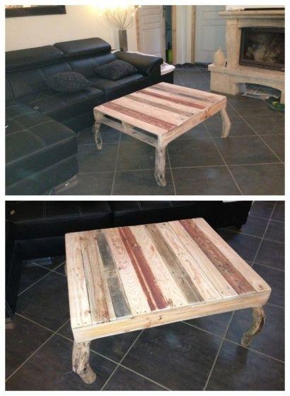 Meubles But Table Basse De Salon ~ Pallets Coffee Table  Table Basse