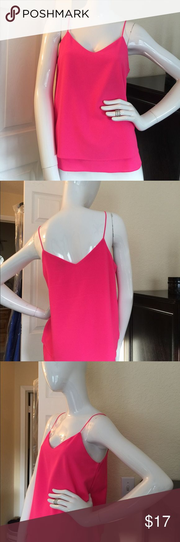 Hot pink blouse Paper crane hot pink blouse in great condition Paper Crane Tops Blouses