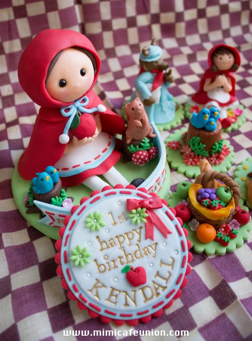 How To Fondant Cake Toppers
