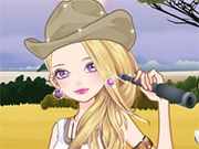 Free Online Girl Games, You are taking a very adventurous vacation to the African safari and you need to find a perfect outfit that will both be cute and practical!  In African Traveling pick out your tops, pants and hiking boots that will help you get through the plains!  See how many outfits you can create!, #africa #vacation #dressup #girl