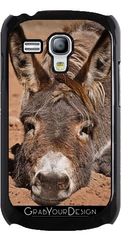 GrabYourDesign - Case for Samsung Galaxy S3 Mini Down donkey - by PINO