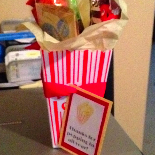 Classroom Volunteer Ideas : Volunteer gifts that go with the movie star theme i ve