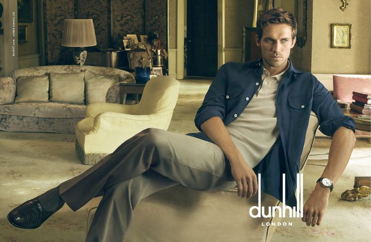 Introducing dunhill's SS15 campaign shot by Annie Leibovitz