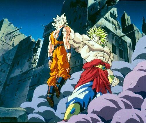 #Goku vs #Broly Super Saiyajin #DBZ | Movies & Películas「Ƶ ...