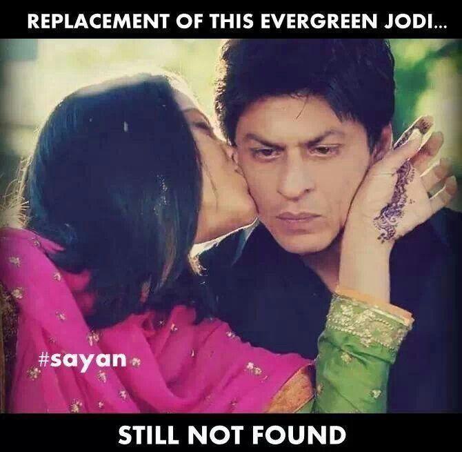 SRK and Kajol in My Name is Khan