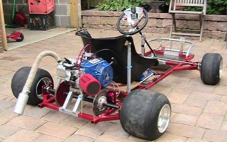 Racing Go Kart Plans