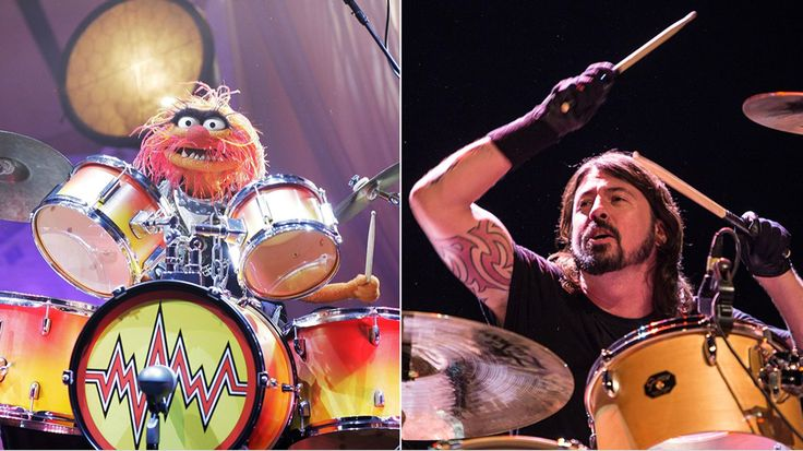 Dave Grohl, Animal Hit the Skins in Epic 'Muppets' Drum Battle | Rolling Stone