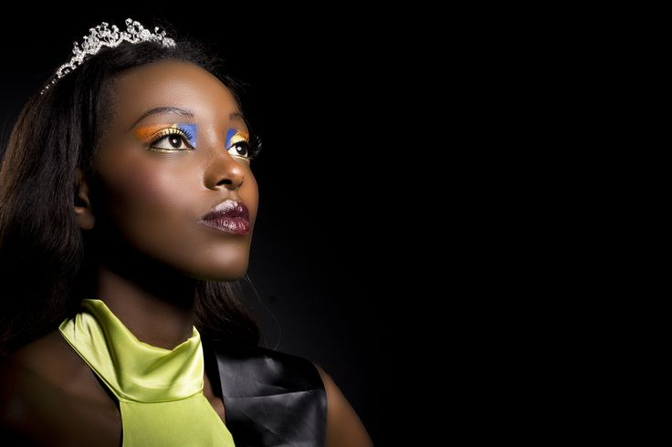 I love working with darker skins!  This is Liesse she won Face of Africa Australia 2014, Photography by Megan King Hair and makeup by me