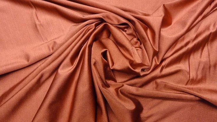 %+KUPFER+BI-STRETCH+LYCRA+STOFF+20%ELASTHAN+|3239+von+Textilgrosshandel24+auf+DaWanda.com