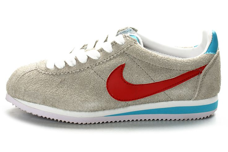 http://www.nikeblazershoes.com/womens-nike-cortez-suede-grey-red-white-sky-blue-p-184.html Only$68.88 WOMENS #NIKE CORTEZ SUEDE GREY RED WHITE SKY BLUE #Free #Shipping!