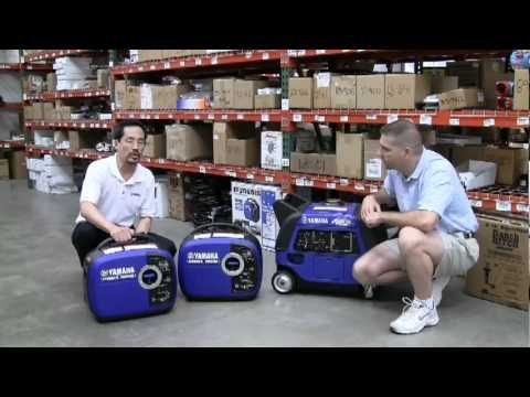 These portable Yamaha Generators use inverter technology because it translates into a compact, lightweight design that makes them easy to transport whether you are camping, fishing, using them around the house, during a power outage, or on the job site. Plus, they're so quiet, they are less obtrusive and more suitable for a wider range of applic...