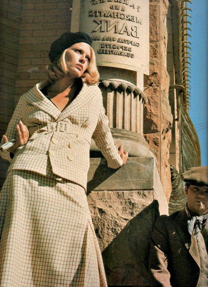 1001 id es chic de look ann es 60 mode femme pinterest tenue ann e 60 ann es 60 et carr. Black Bedroom Furniture Sets. Home Design Ideas