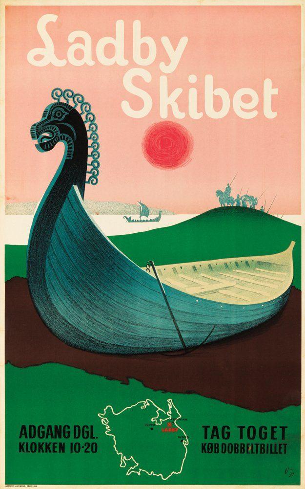 Ladby Skibet                                                                                                                            Plus