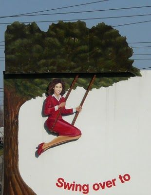 Swinging Lady, Willison Chevrolet, Scarborough Ontario. Her clothes would be different every season. Loved seeing her when I was a little girl. pic by Violet Sky: SundayStills - logos
