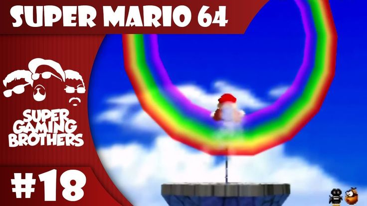SGB Play: Super Mario 64 - Part 18 | Somewhere Over the Rainbow Cruise