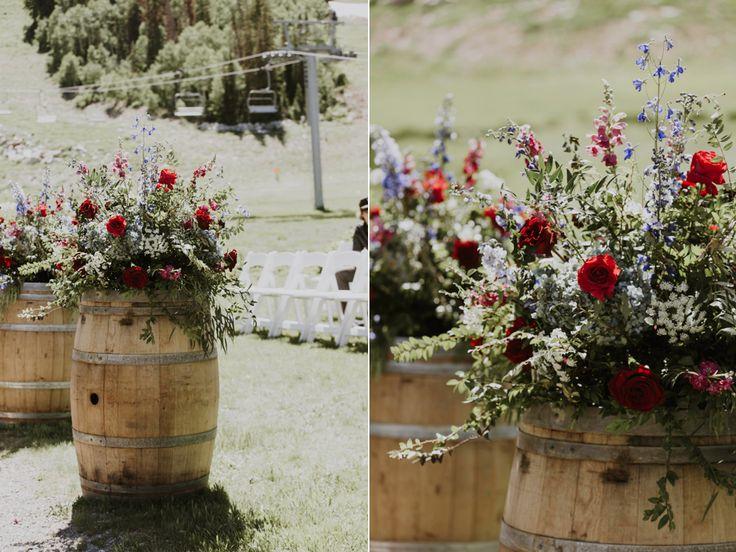 destination utah solitude mountain resort wedding flowers calie rose whisky barrel flowers