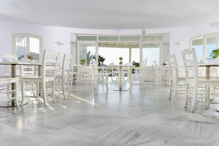Relaxing ambience at Palladium's Blé Restaurant  http://www.hotelpalladium.gr