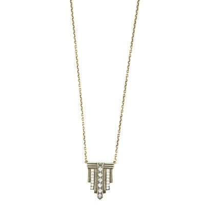 art deco necklace 2
