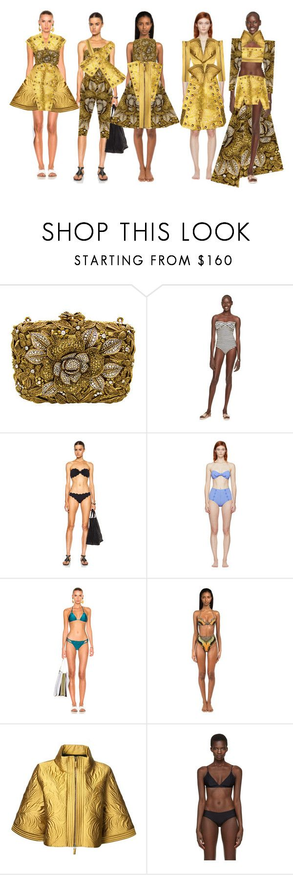 """Fashion Collection"" by coppin-s ❤ liked on Polyvore featuring Kate Spade, Marysia Swim, Lisa Marie Fernandez, ADRIANA DEGREAS, Andrew Gn, Etro and Acne Studios"