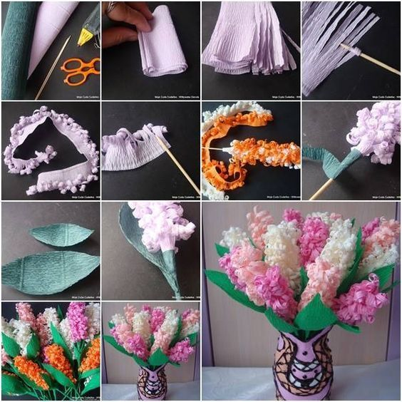 You will love this Paper Hyacinth Craft and we have a video tutorial to show you how. Check out all the gorgeous versions now.