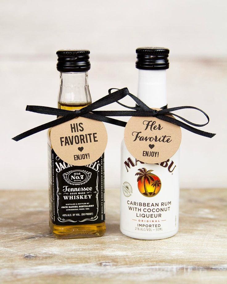 """What is it about miniature things that make them irresistible? Mini liquor bottles, mini snack bags, mini people... I'm just sayin' New """"His Favorite/Her favorite"""" tags listed in the shop!    #Regram via @taggedwithloveshop"""