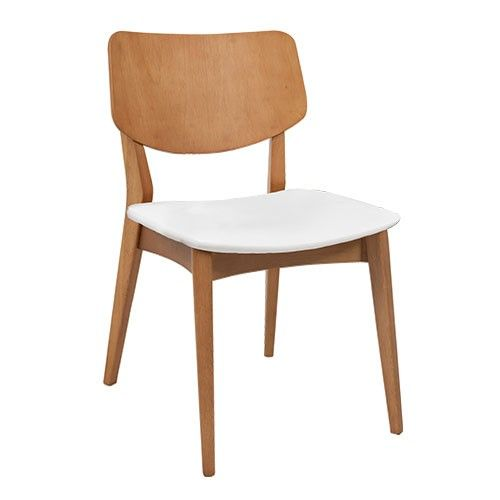 Piero Upholstered Chair - White