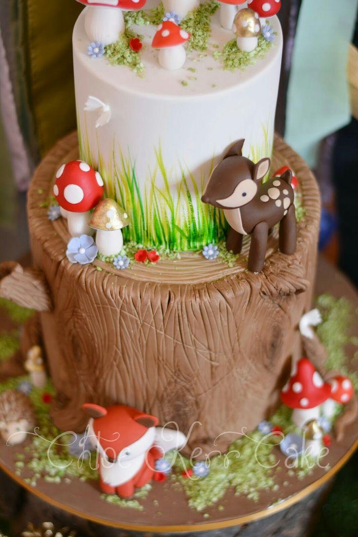 1203 Best Woodland Cakes Images On Pinterest Woodland