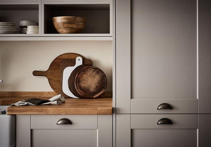 18 Best White Shaker Kitchens Images On Pinterest White