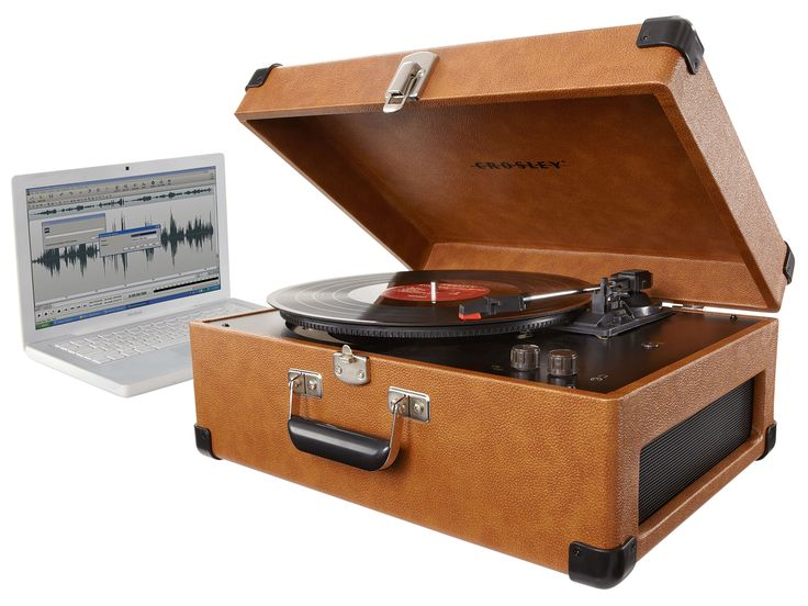 Can't bear to live without your vinyl albums, yet can't seem to find the time to fire up the record player these days? The Crosley Keepsake USB Turntable is theperfect solution. Takeyour old vinyls and convert them to CD in minutes with just a few simple steps. It easily interfaces with the USB port on any computer and includes a fullsoftware to rip and edit your content. And, if you still want to break out your old albums, there's a three-speed turntable for your listening enjoyment.