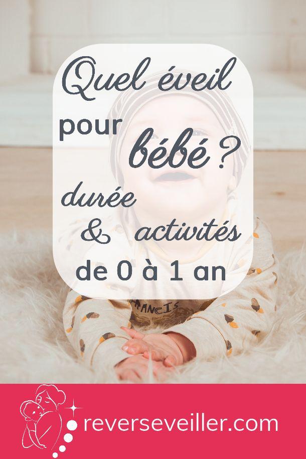 Quel éveil pour bébé ? Durée et activités de 0 à 1 an – santé
