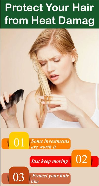 Natural Ways To Protect Hair From Heat Damage