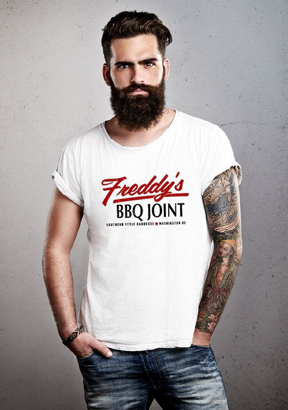 Freddy's BBQ Joint Tshirt House of Cards Inspired by MADLABSGEAR, $18.79