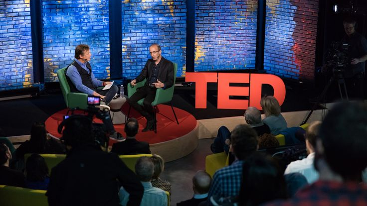 """""""Humanity can rise to the challenge"""": Yuval Harari in conversation at TED Dialogues"""