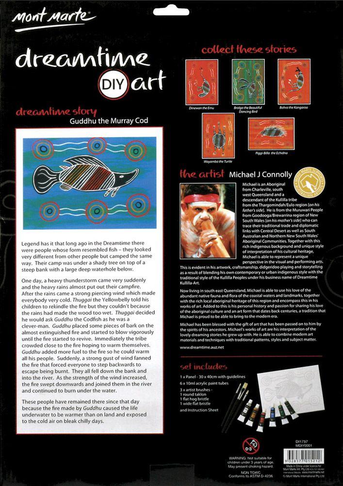 Guddhu the Murray Cod - DIYA04 $10.00 per pack or Set (6) - $55.00