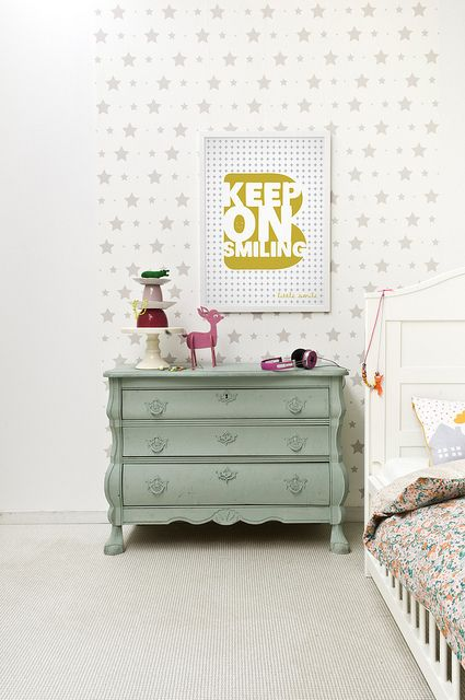 So sweet and whimsical. Love the color palette and quirky touches.   bibelotte by Paul+Paula, via Flickr