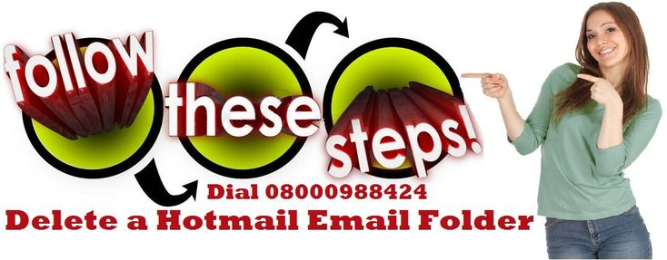Learn How to Delete a Hotmail Email Folder #Hotmailsupportnumber #Hotmailphonenumber